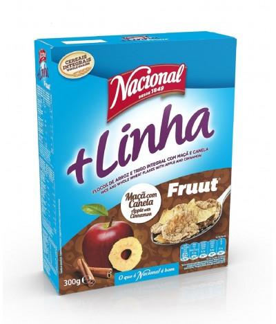 Cereales + Linha con Manzana y Canela 300 gr