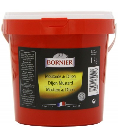 Bornier Mostaza de Dijon 1kg