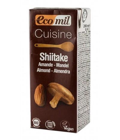 Ecomil Creme Culinária Shitake BIO 200ml