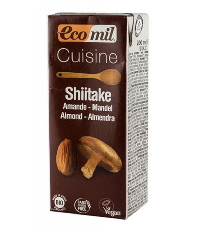 Ecomil Crema Culinaria Shitake BIO 200ml