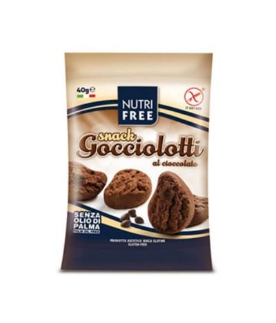 Nutrifree Snack Gocciolotti Chocolate 40gr