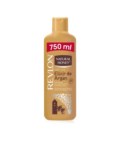 Natural Honey Gel Banho Elixir de Argan 750ml