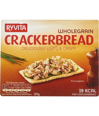 Ryvita Crackers Integrais 125gr