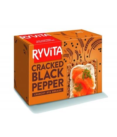 Ryvita Crackers Centeio & Pimenta 200gr