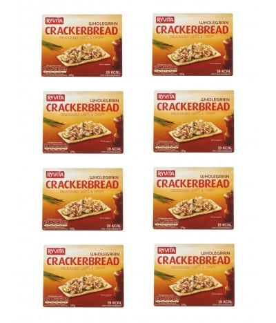 PACK FAMÍLIA 8 Ryvita Crackers Integrais 125gr