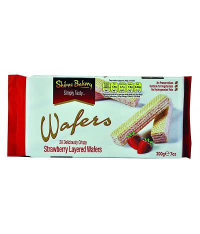 Shires Wafers Morango 200gr