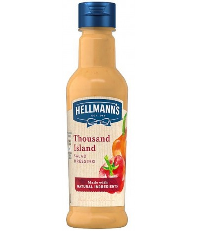 Hellmanns Salsa Mil Islas 210ml
