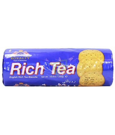 Royalty Bolachas Rich Tea 300gr