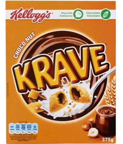 Kelloggs Cereales Krave Choco Nut 375gr