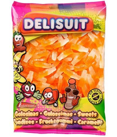 Delisuit Gominolas Botella Naranja Brillo 250un