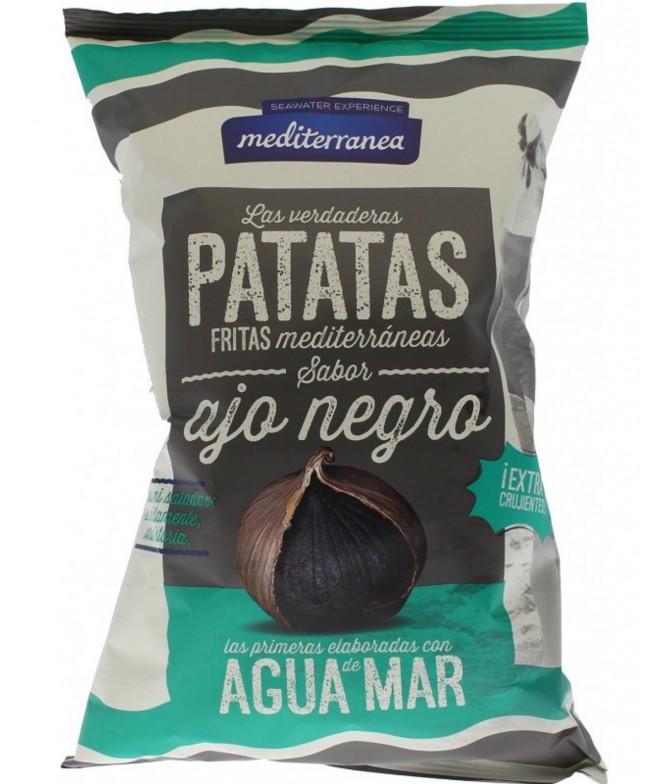 Mediterranea Batatas Fritas Alho Negro 130gr