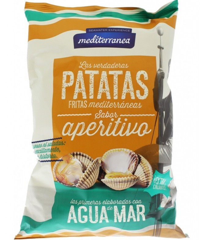 Mediterranea Batatas Fritas Aperitivo 130gr