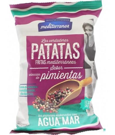 Mediterranea Batatas Fritas Pimentas 130gr