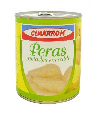 Cimarrom Pera en Mitades en Almíbar 840gr
