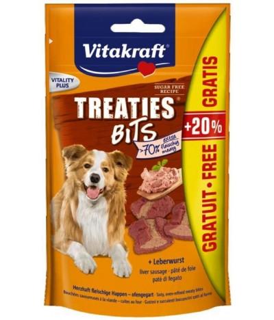 Treaties Bits Patê Fígado Cão 120gr+20%