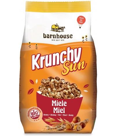Barnhouse Muesli Krunchy Sun com Mel BIO 375gr