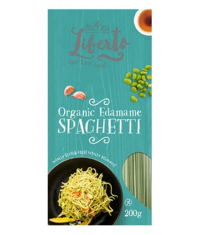 Liberto Espaguetis Soja Verde BIO 200gr