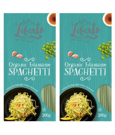 PACK 2 Liberto Espaguetis Soja Verde BIO 200gr