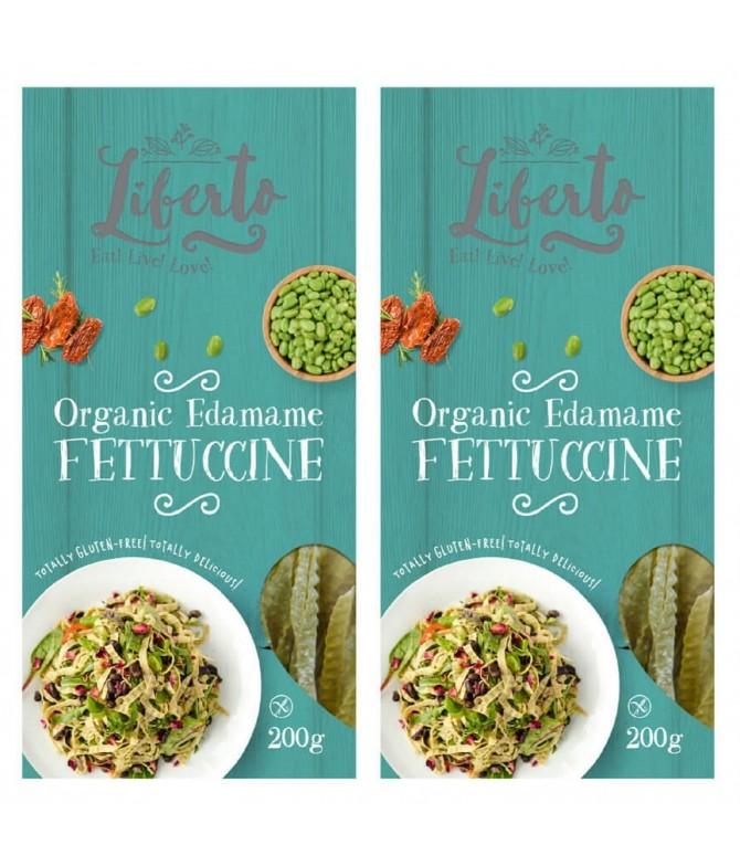 PACK 2 Liberto Fettuccine Soja Verde BIO 200gr