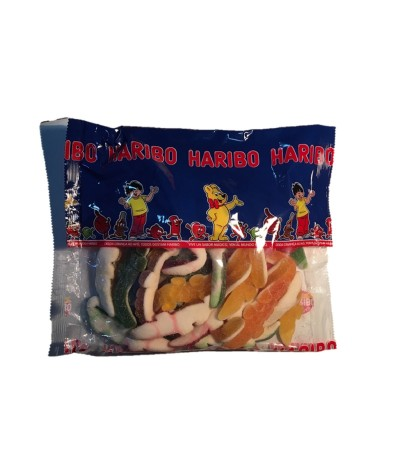 Haribo Gomas Jakarés Açúcar XXL 1kg