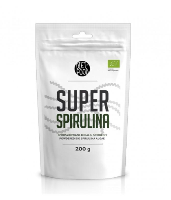 Diet-Food Super Espirulina EMAGRECIMENTO BIO 200gr