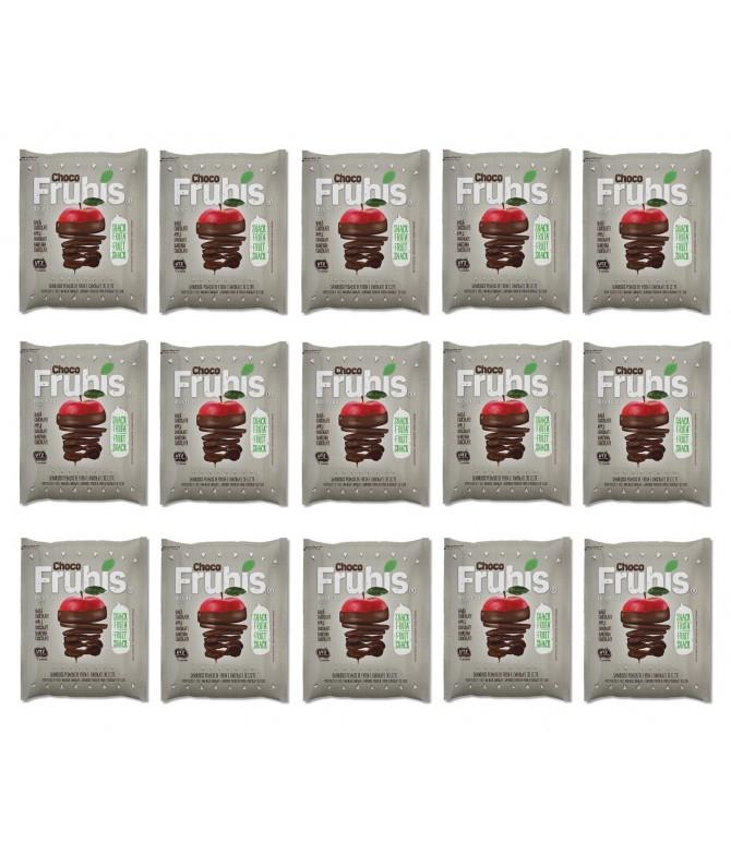 PACK FAMÍLIA 15 Frubis Maçã Chocolate 40gr
