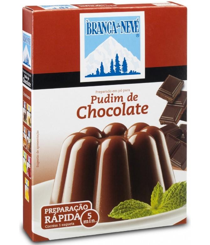 Branca de Neve Pudim de Chocolate 120gr