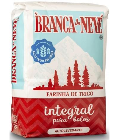 Branca de Neve Harina de Trigo Integral 500gr