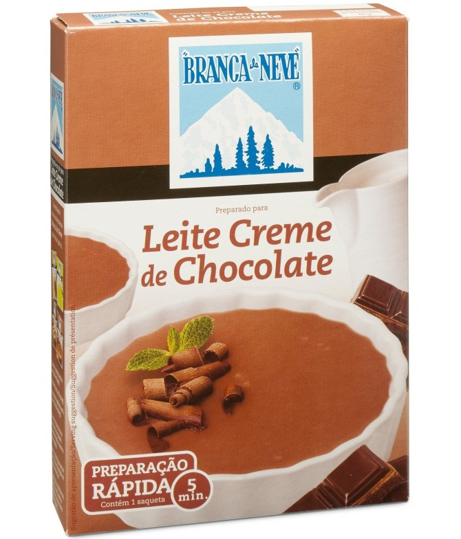 Leite Creme de Chocolate Branca de Neve