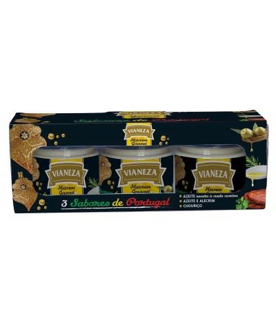 Vianeza Pack 3 Mayonesa Aceite Romero & Chorizo 3x110ml