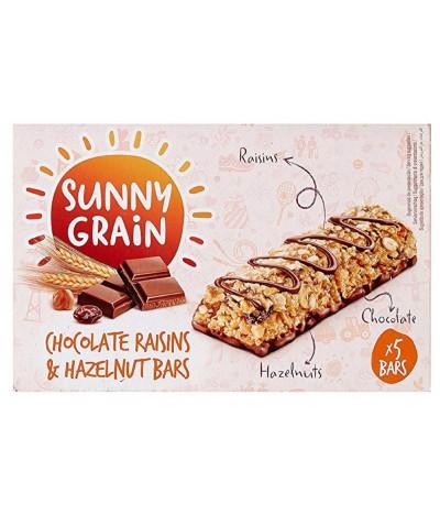 Sunny Grain Barritas Chocolate Passas & Avelãs 145gr
