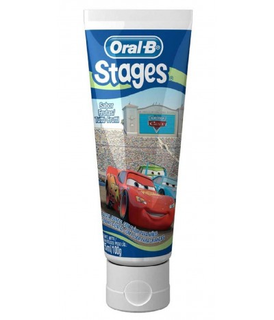 Oral-B Pasta Dentífrica Infatil Cars 75ml