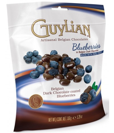 Arándanos Recubiertos de Chocolate Negro Guylian 150gr