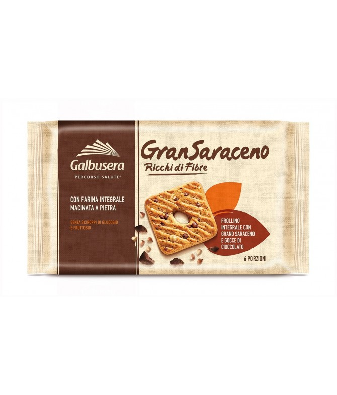 Gransaraceno Bolacha Recheio Chocolate 260gr