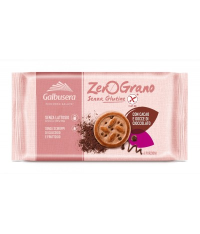 Galbusera Galleta ZeroGranoPlus Chocolate 300gr