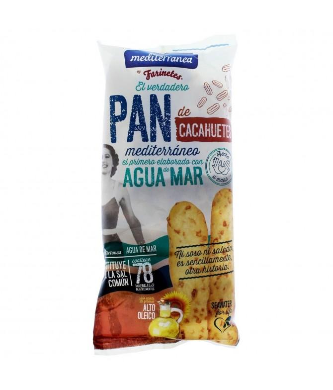 Mediterranea Palitos de Pan & Cacahuete 90gr