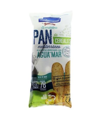 Mediterranea Palitos de Pan & Cereales 90gr