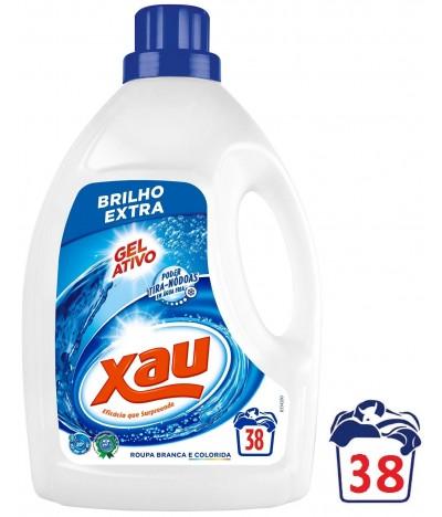 Xau Detergente Ropa Líquido Gel Activo 38un