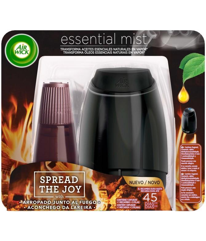 AirWick Essential Mist Aconchego Lareira 1un