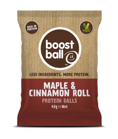 Boost Ball Bolas Proteína Ácer & Canela BIO 42gr