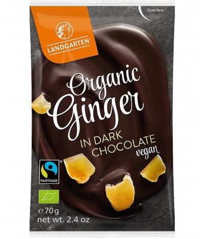 Landgarten Gengibre & Chocolate Preto BIO 70gr