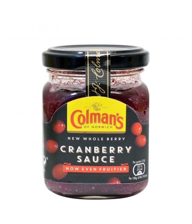 Colmans Molho Caranberries 165gr
