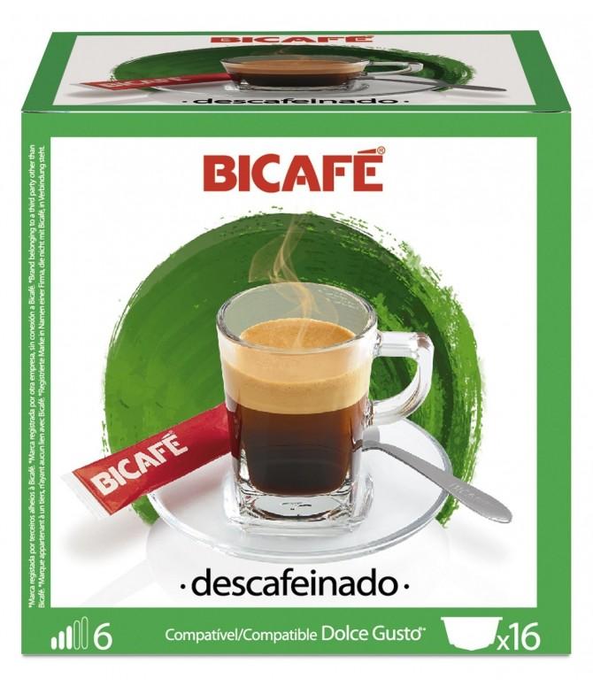 Café Descafeinado 16 cápsulas