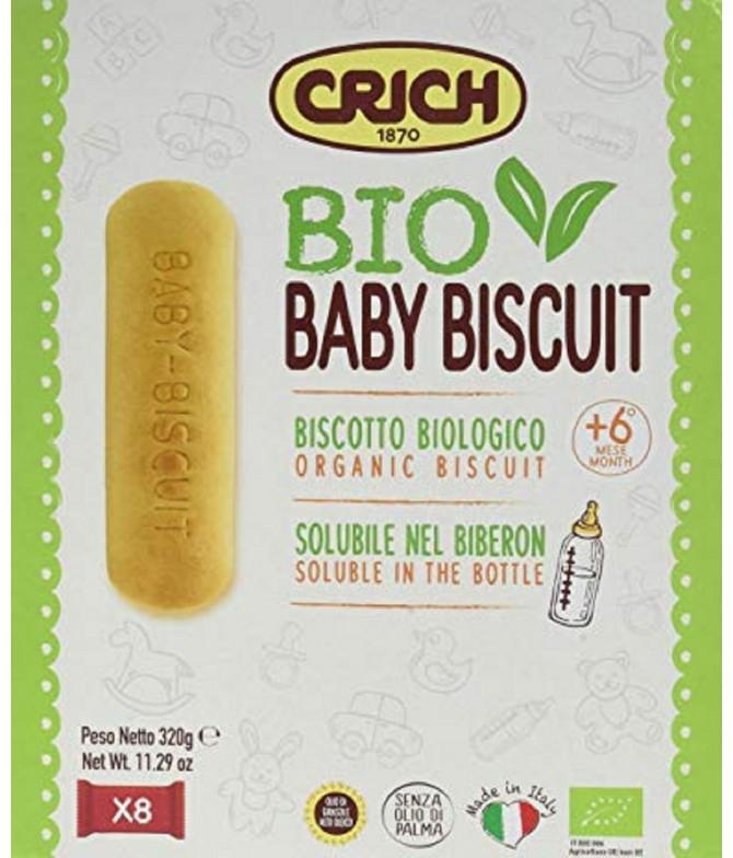 Crich Biscoitos Baby Biscoti BIO 320gr