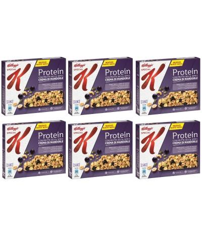 PACK FAMILIA 6 Kelloggs Protein Barrita Frutos Secos 4un