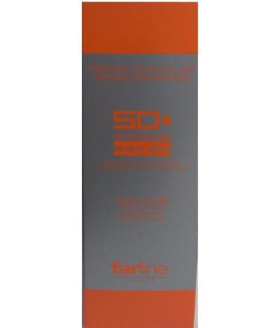Crema de Protección Solar Zonas Sensibles SPF 50 + Farline