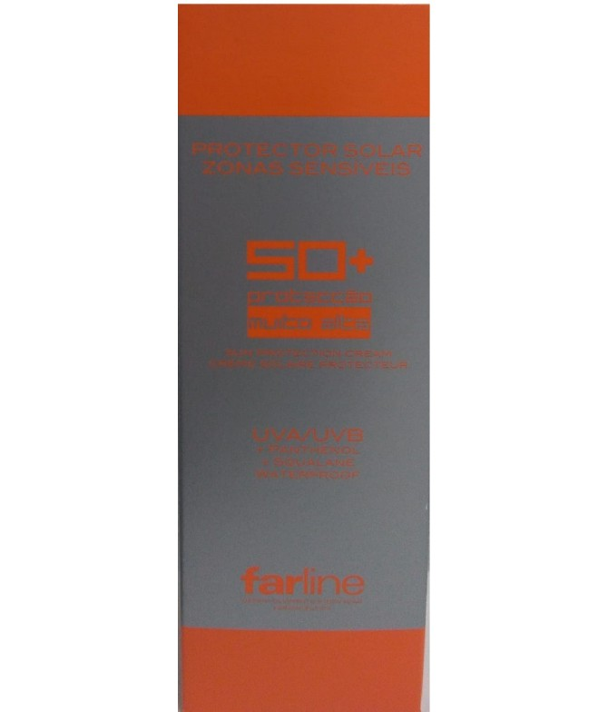 Creme Protetor Solar Zonas Sensíveis SPF 50 + Farline