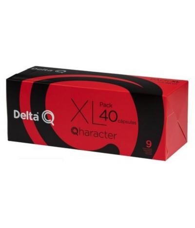 Delta Q Café Qharacter 40un Pack XL 40un