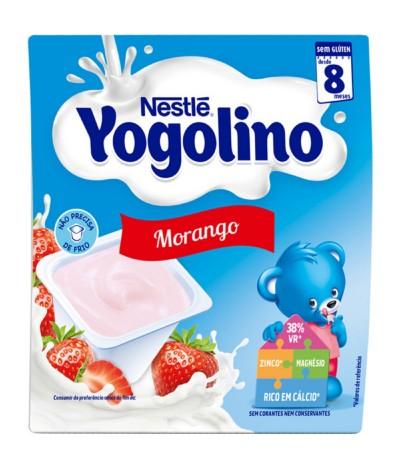 Yogolino Morango 4x100gr