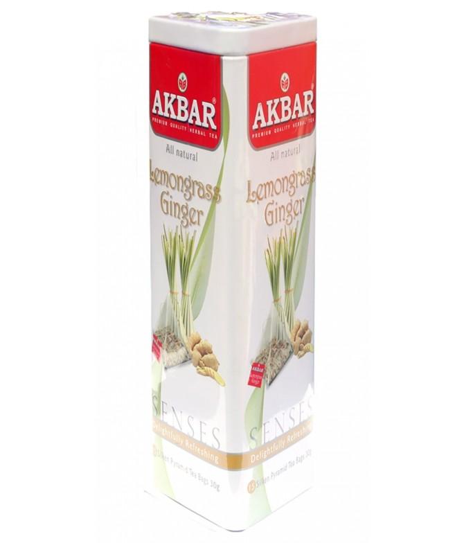 Akbar Herbal Infusion Cidreira & Gengibre 30gr